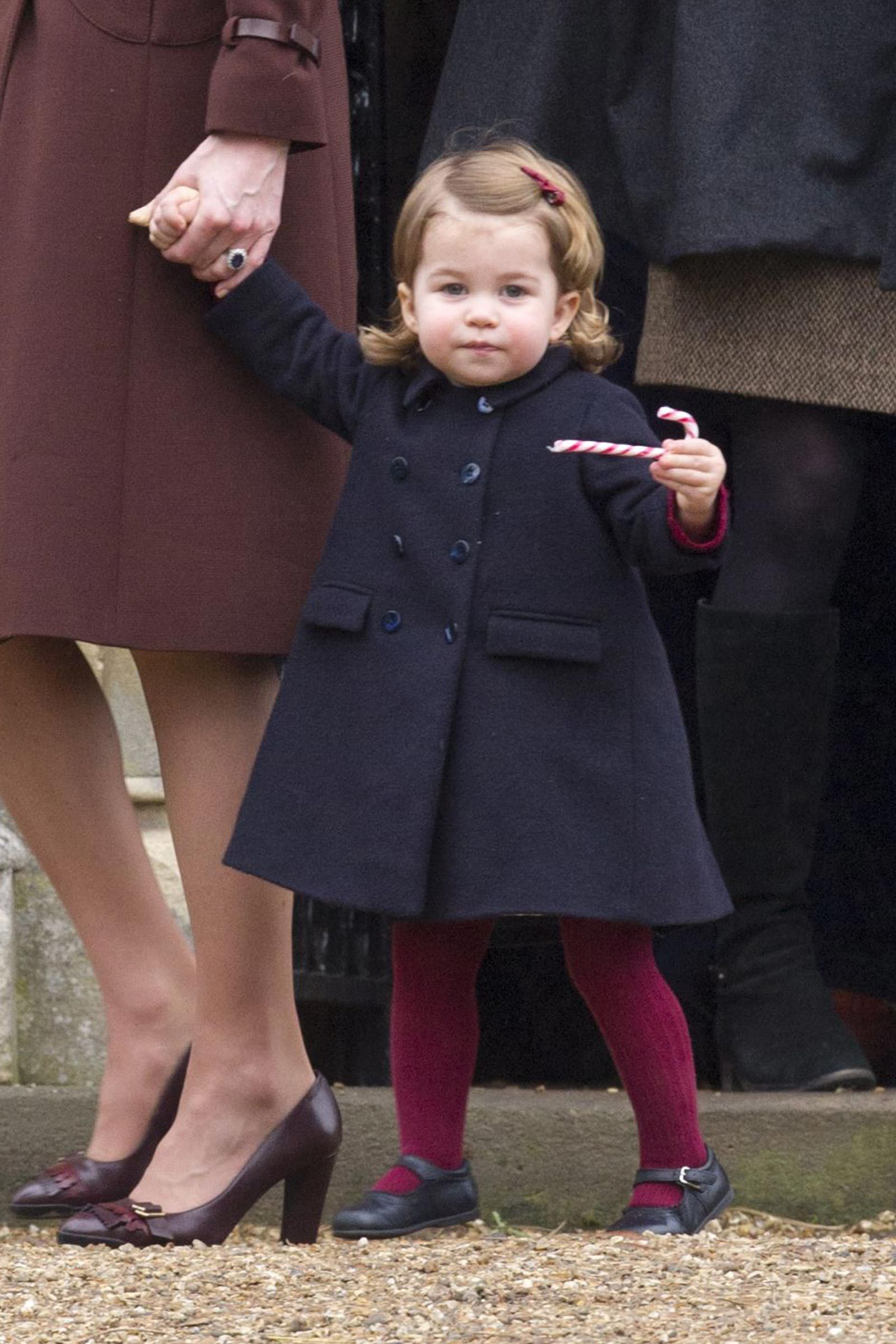 princess charlotte candy cane