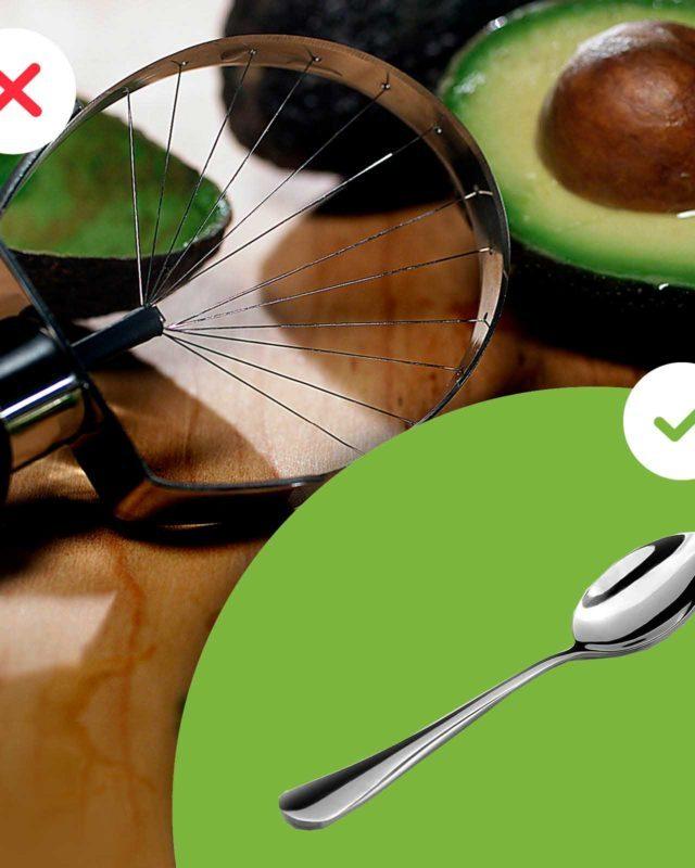 Avocado slicer and spoon