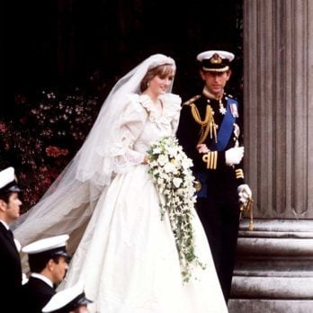 The Hidden Message Princess Diana Had Painted in Her Wedding Shoes