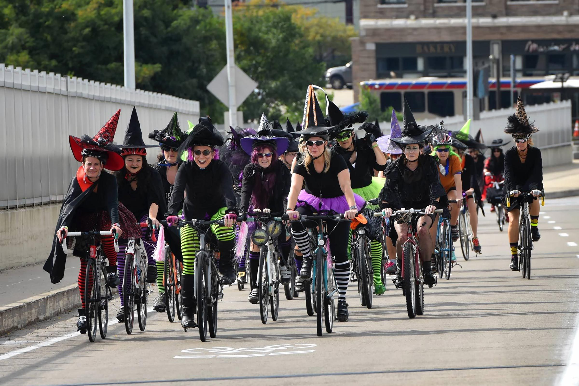 Bicycling For Weight Loss >> Witches Rides Turn Bicycling Into a Festive Fundraiser | Reader's Digest