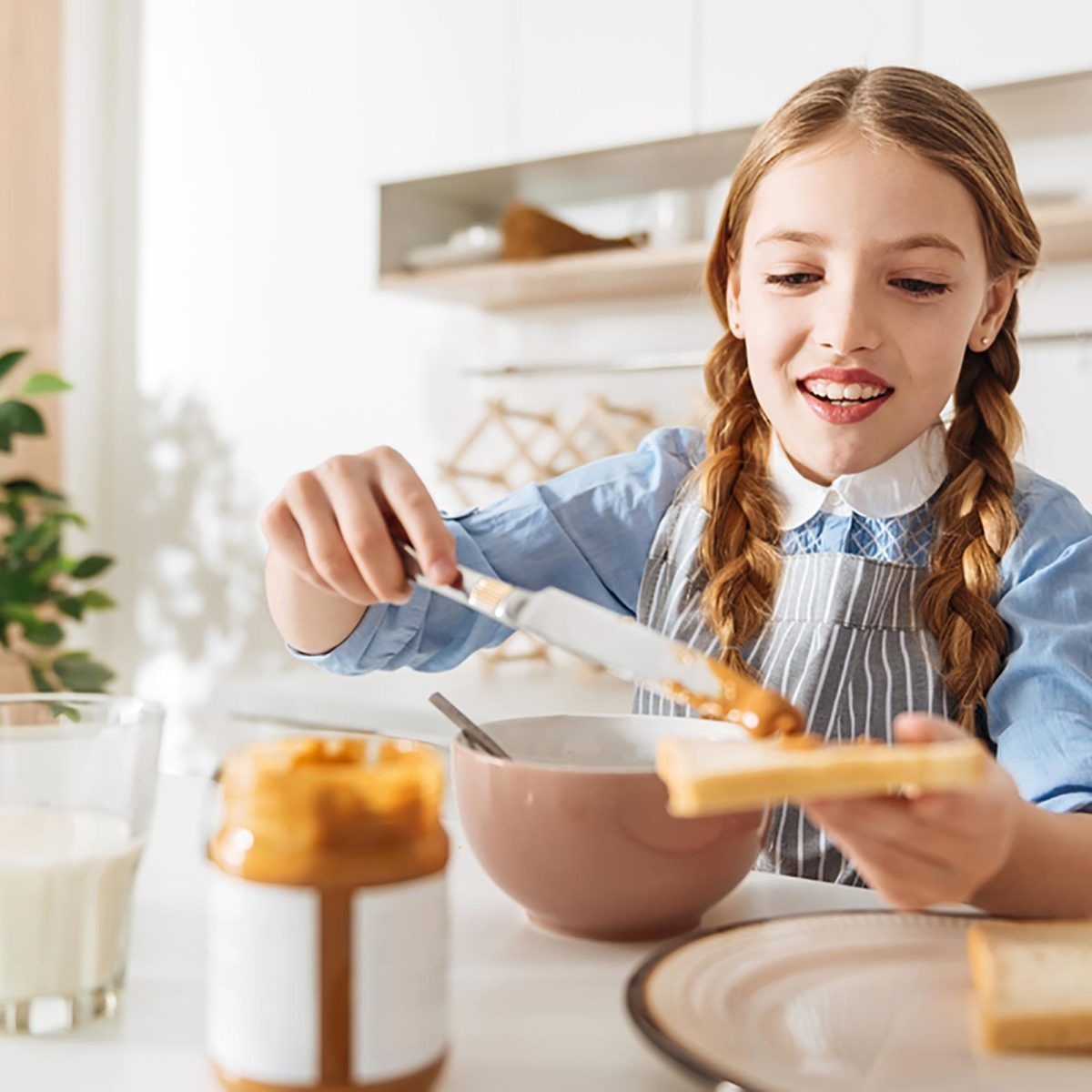 Children say: I eat a lot to be kind