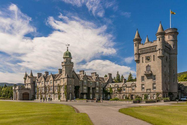 balmoral castle outside