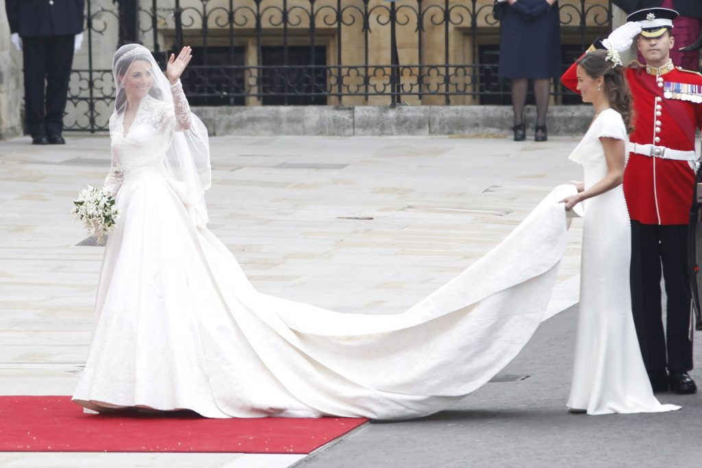 Kate Middleton\'s Second Wedding Dress | Reader\'s Digest