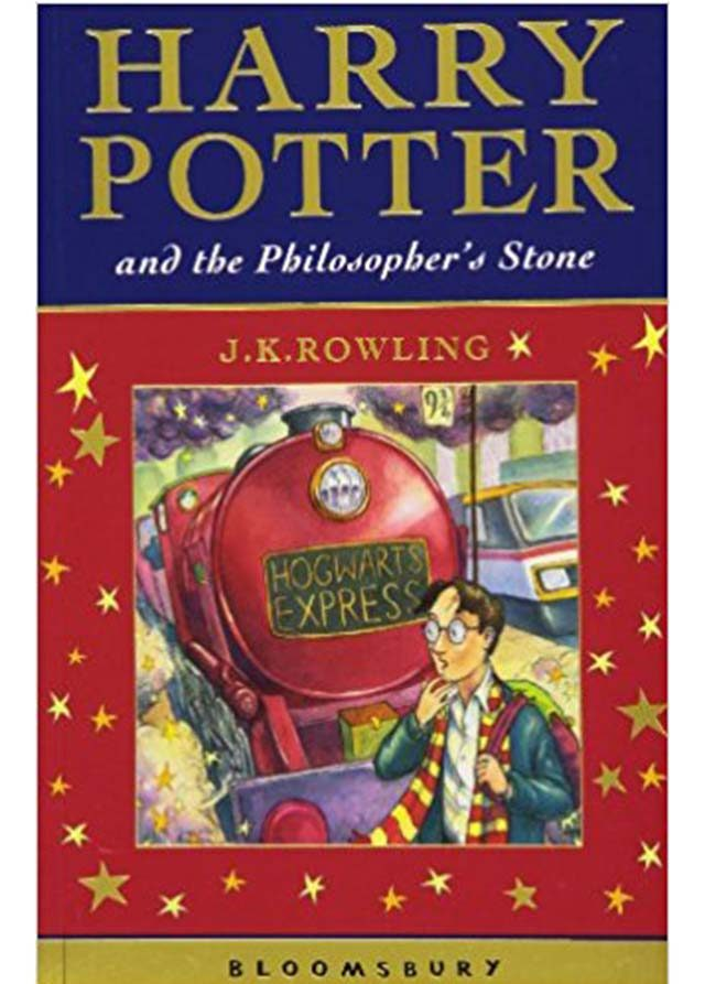 Harry Potter And The Philosopher S Stone By J K Rowling Worth 55 000