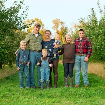 I Run an Apple Farm with My Husband and Five Kids—Here's What Our Lives Look Like