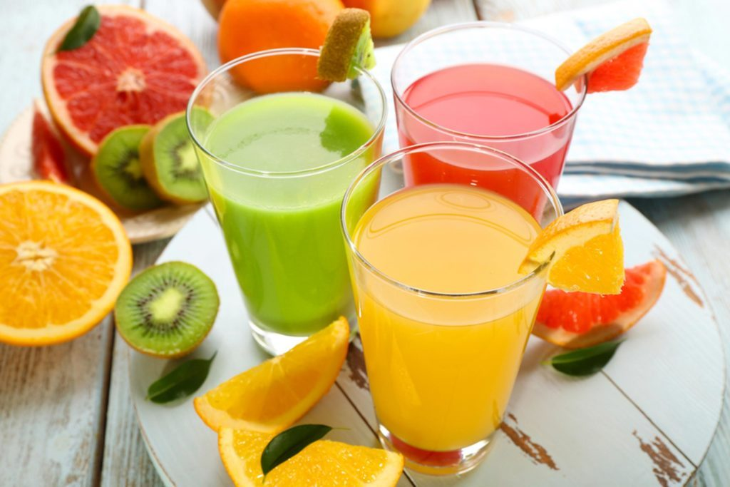 High Fiber Juice Drinks