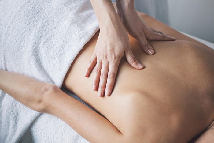 massage. Romantic anniversary ideas