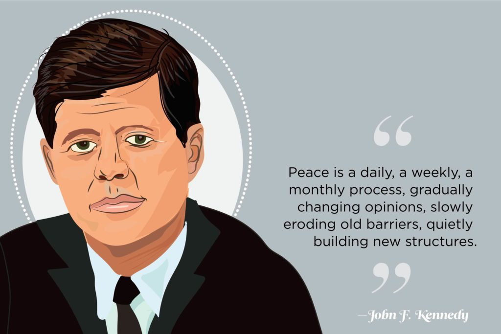 Peace Quotes Wise Words From World Leaders Readers Digest