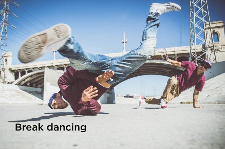 break-dancing