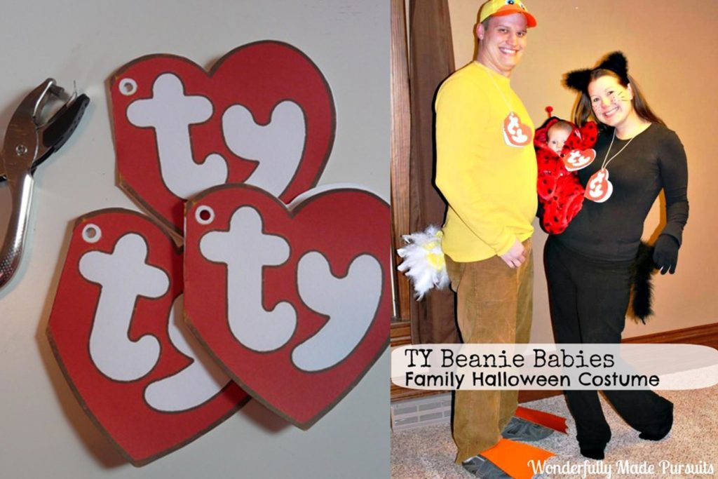 beanie baby cheap halloween costumes for kids basically anyone can