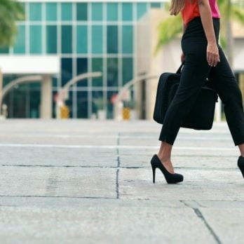 Here's How to Finally Make Your Heels Stop Squeaking