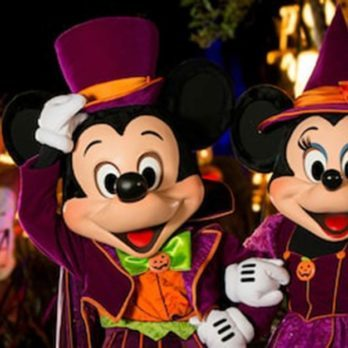Here's What Halloween Looks Like at the Happiest Place on Earth