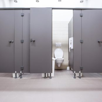 This Is the Only Stall You Should Use in a Public Bathroom