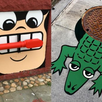 This New York Street Artist Is Turning Ordinary Objects into Funny and Brilliant Designs