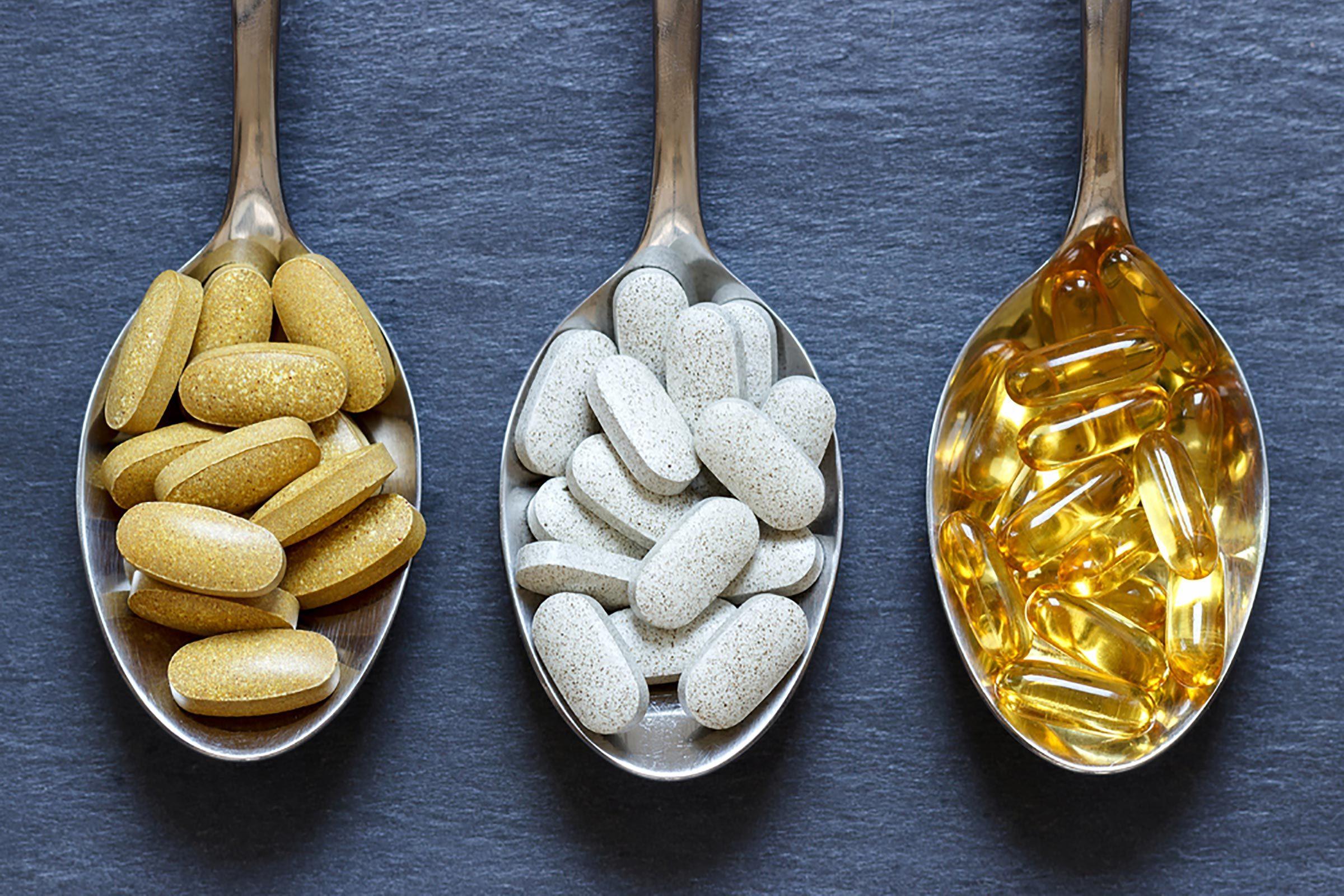 Konsumsi vitamin