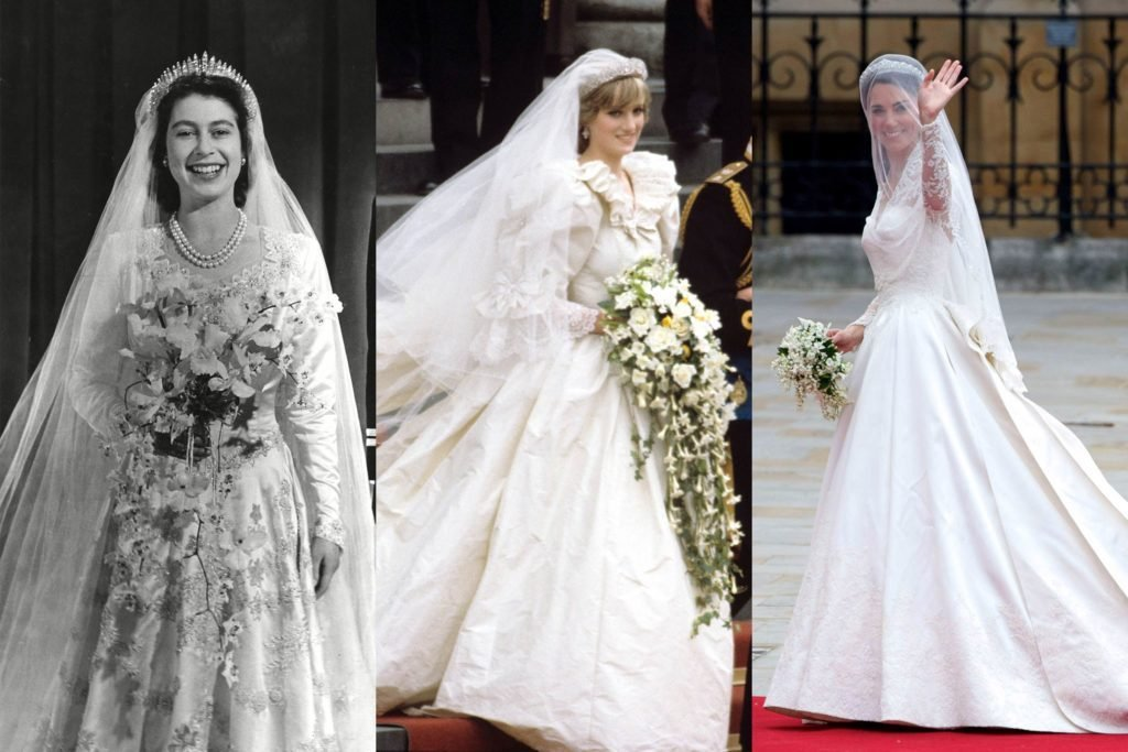 What Princess Diana Wore to Weddings in the 80s and 90s