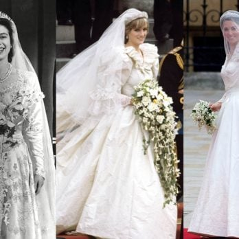 These Are the Fragrances Queen Elizabeth, Princess Diana, and Kate Middleton Wore on Their Wedding Days