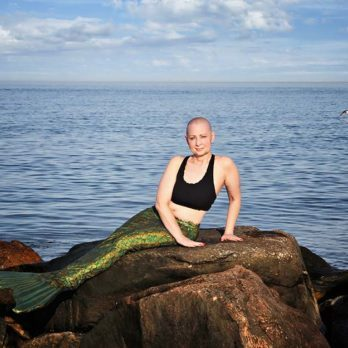 Why This Woman with Metastatic Breast Cancer Is Posing as a Mermaid