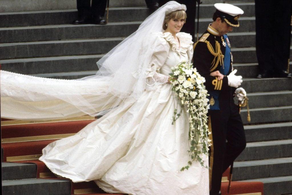 Princess Diana Wedding Photos From Her Wedding To Prince Charles