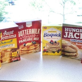 This Taste Test Found the Best Pancake Mix