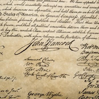 You'll Never Guess Who Has the Most Valuable Signature on the Declaration of Independence