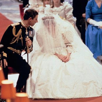 10 Rare Photos of Princess Diana and Prince Charles' Wedding