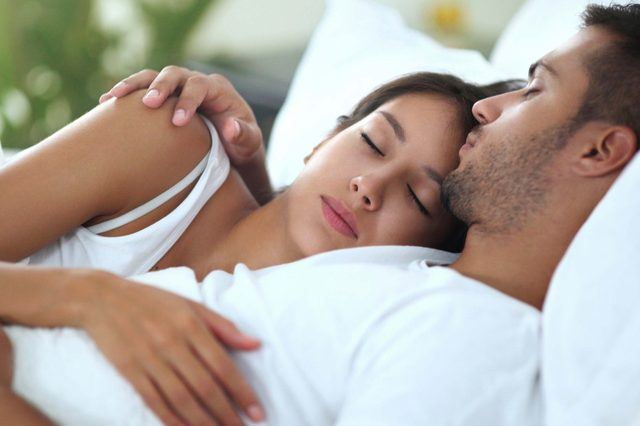 Sleeping positions couples mean what 21 Couples