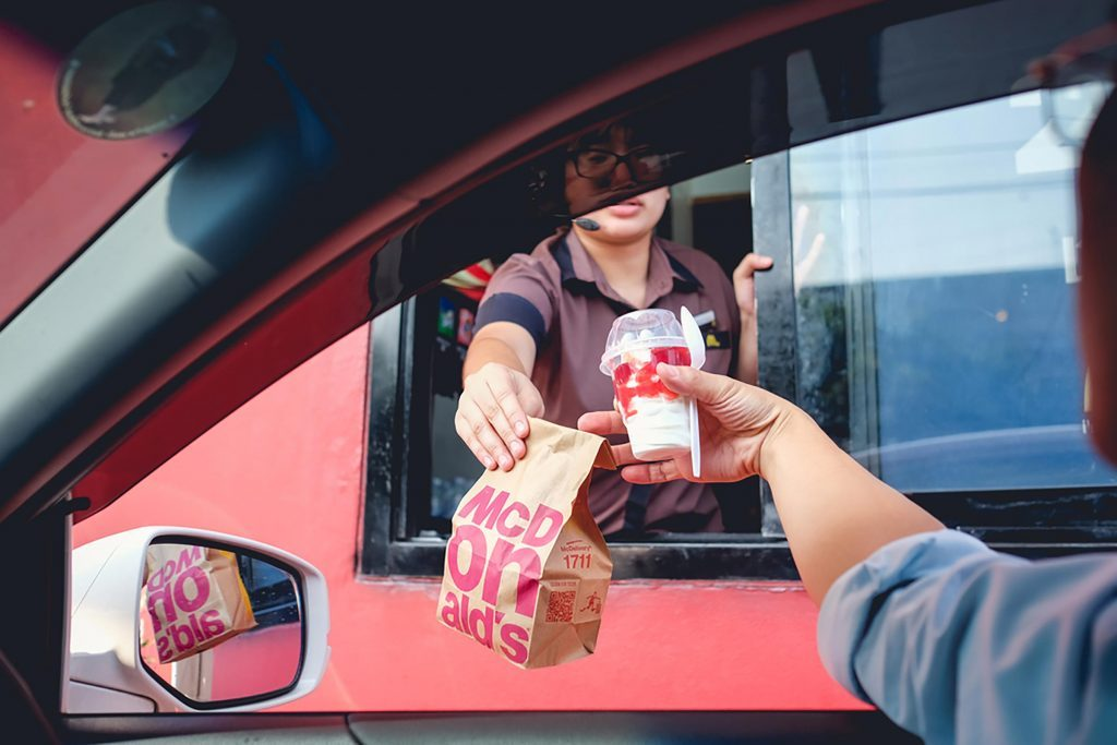 4e3fa4f706 We re timed on how fast we get customers through the drive-through…