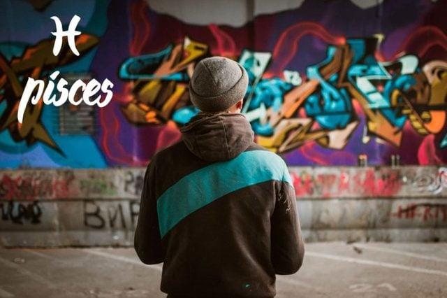 pisces-graffiti