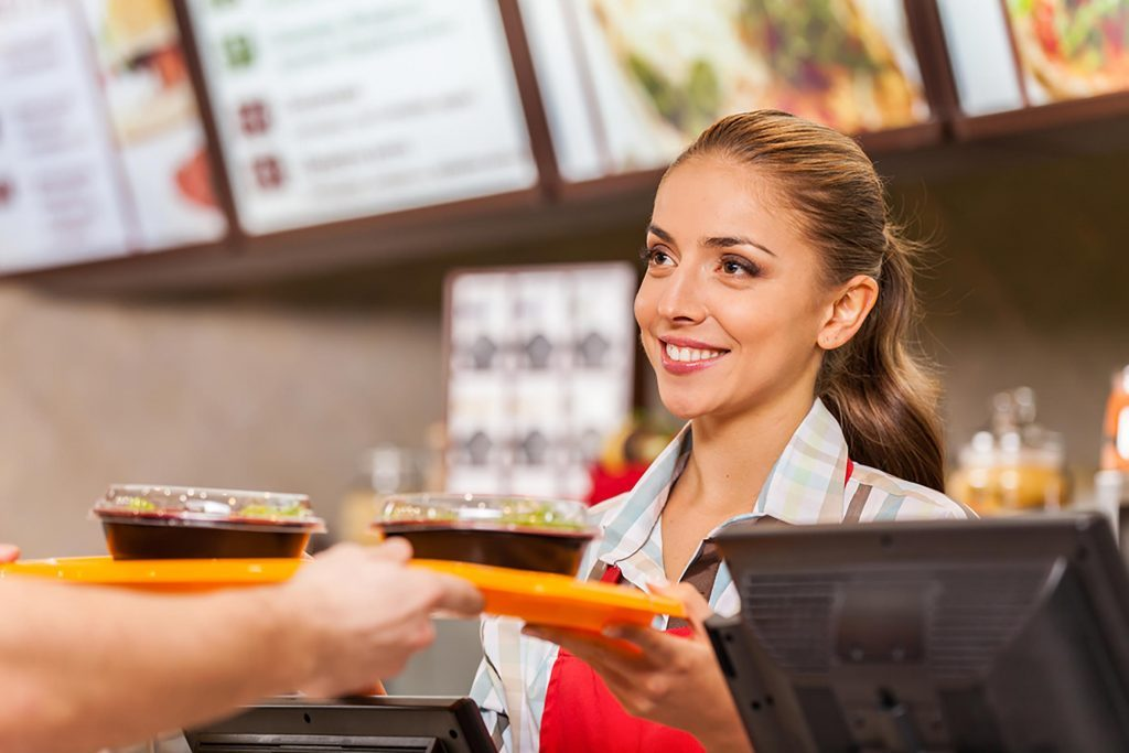 Image result for fast food restaurant employee