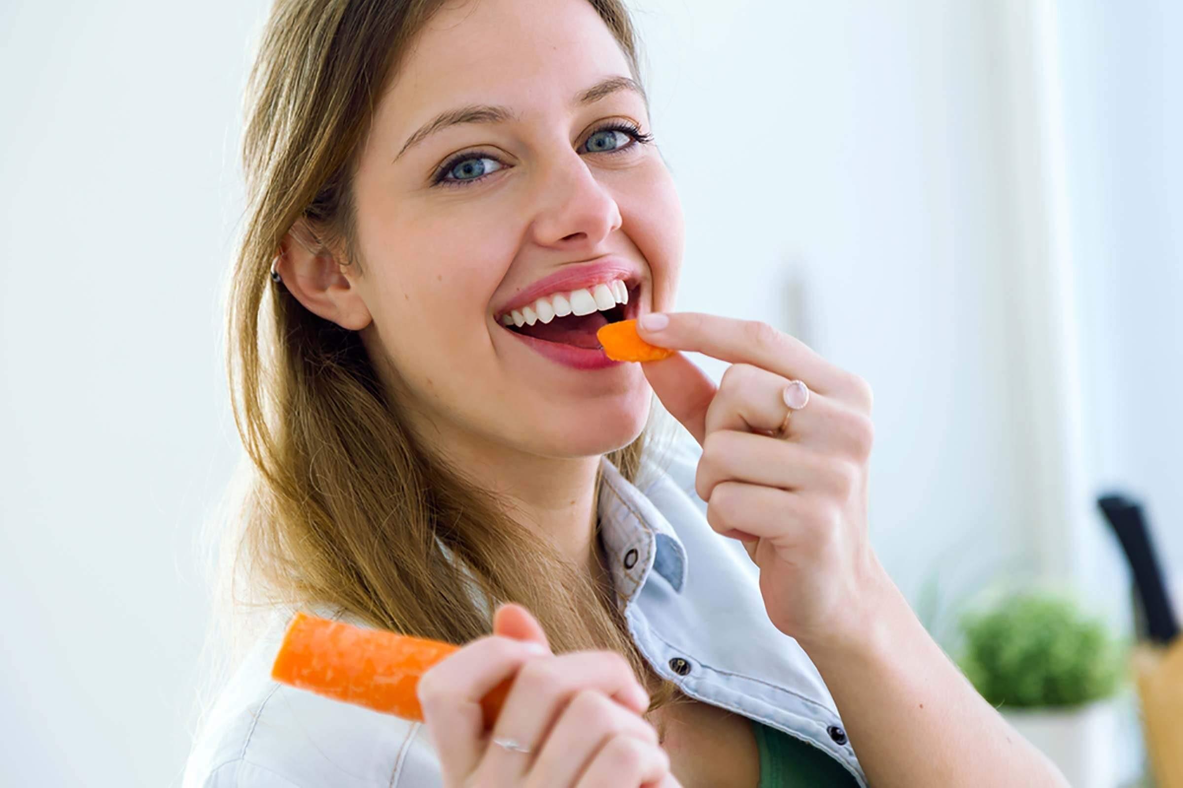 Les personnes qui entreprennent le régime de carottes l'adorent