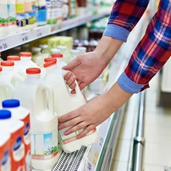 The Real Reason Your Grocery Store Milk Gets Put in the Back of the Store