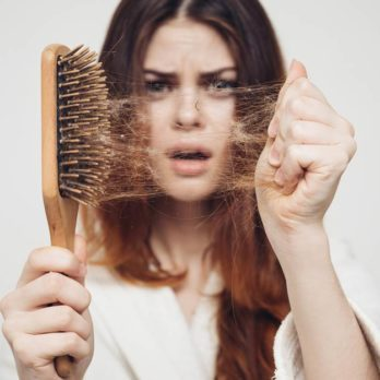 If You've Been Shedding More Hair Lately, There's a Scientific Reason Why