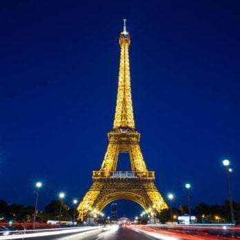 Why It's Illegal to Take Photos of the Eiffel Tower at Night