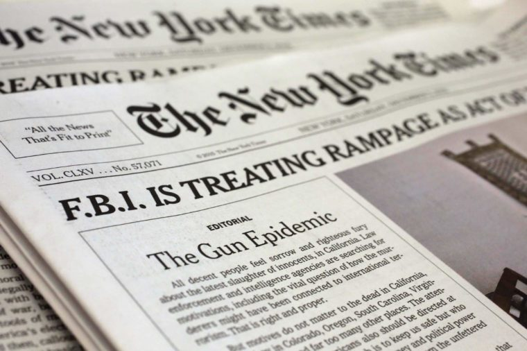 The New York Times Ran This Typo for 102 Years | Reader's ...