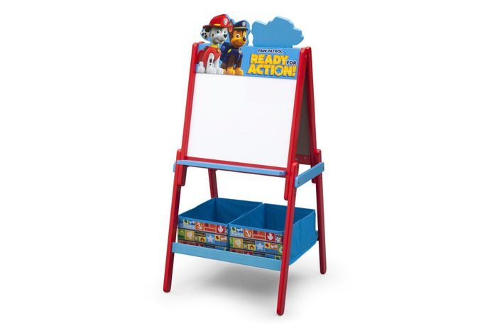 paw patrol double sided activity easel