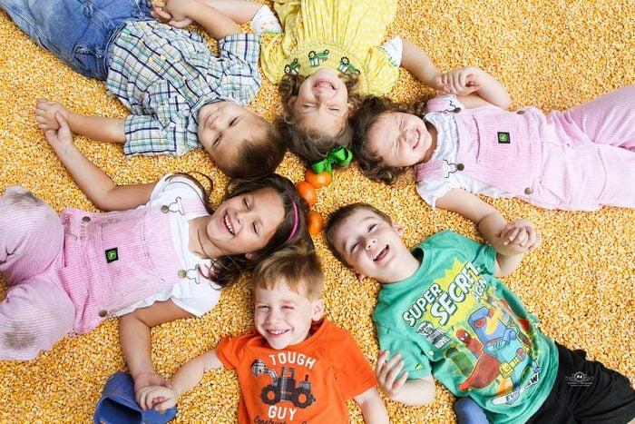 Amazing Grace Family farm corn crib