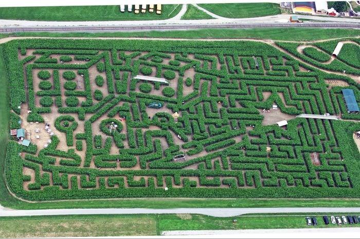 Cheery Crest Corn Maze