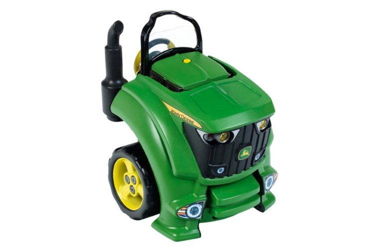 john deere tractor engine kids toy