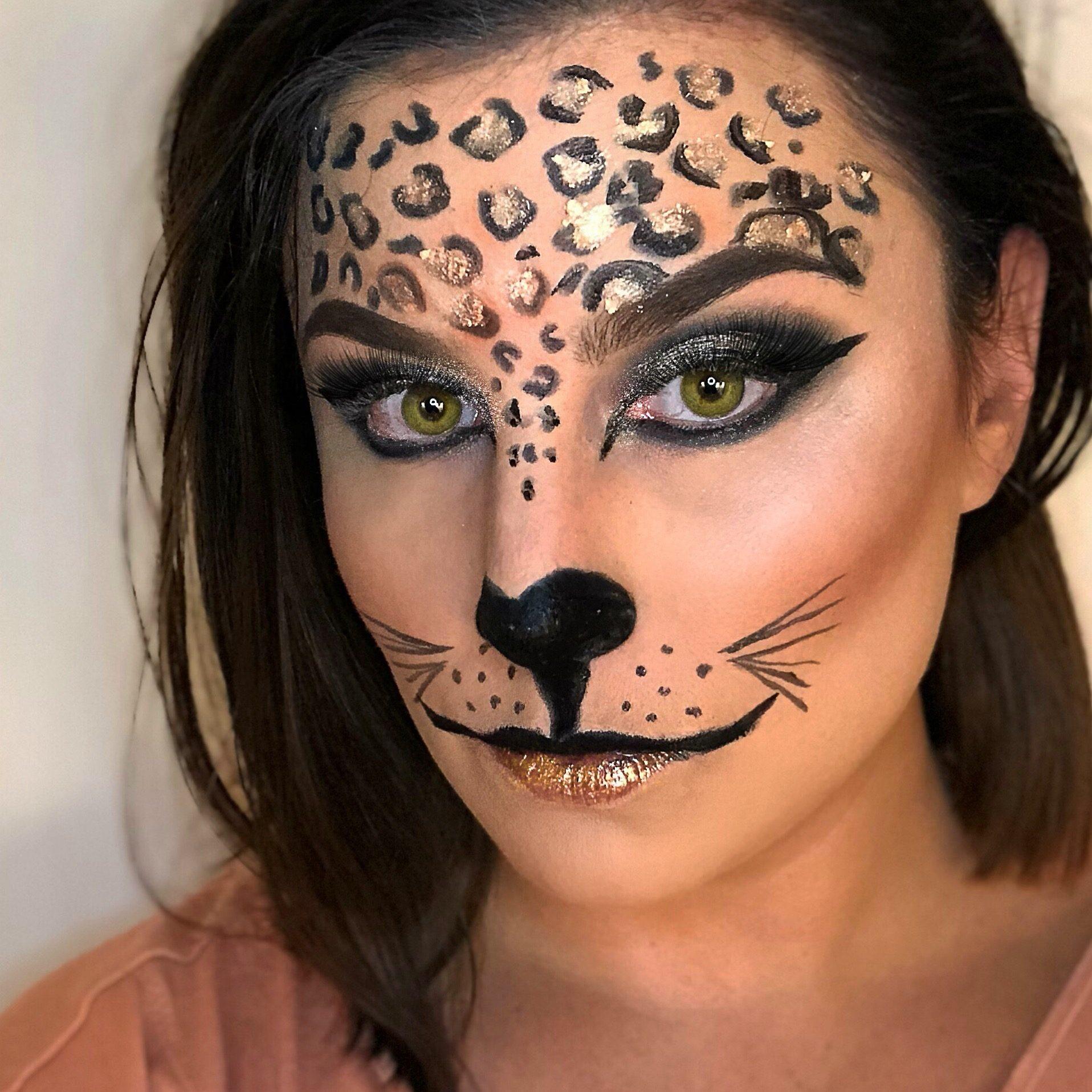 Hailey Barry cheetah leopard