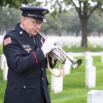 This Man Taught Himself to Play the Trumpet So He Could Honor Fallen Veterans