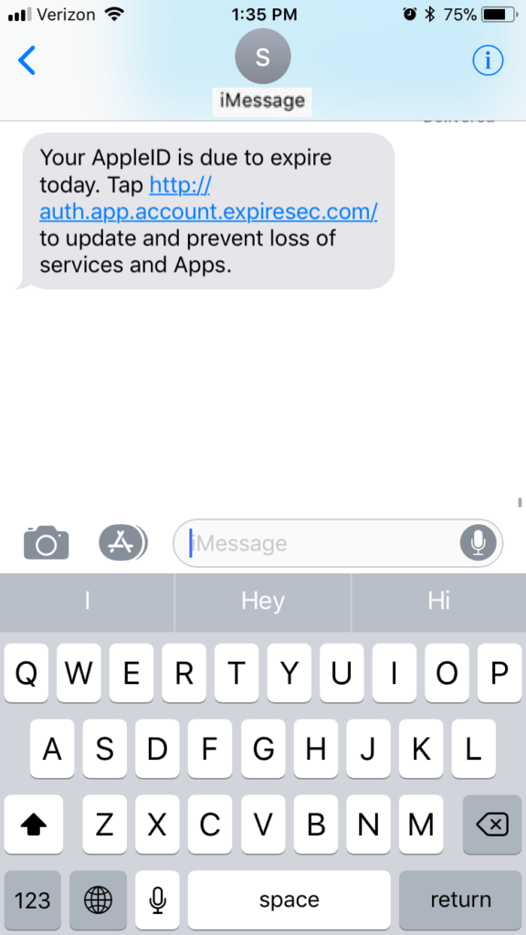 iPhone Users: Look Out for This iMessage Scam | Reader's Digest