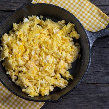 This Is the Secret Ingredient to Extra Fluffy Scrambled Eggs (It's Not Milk!)