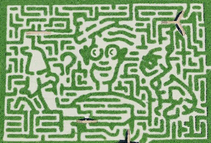 Davis Mega Maze Festival, Sterling, Massachusetts