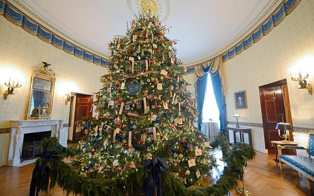 white house christmas tree festive facts readers digest