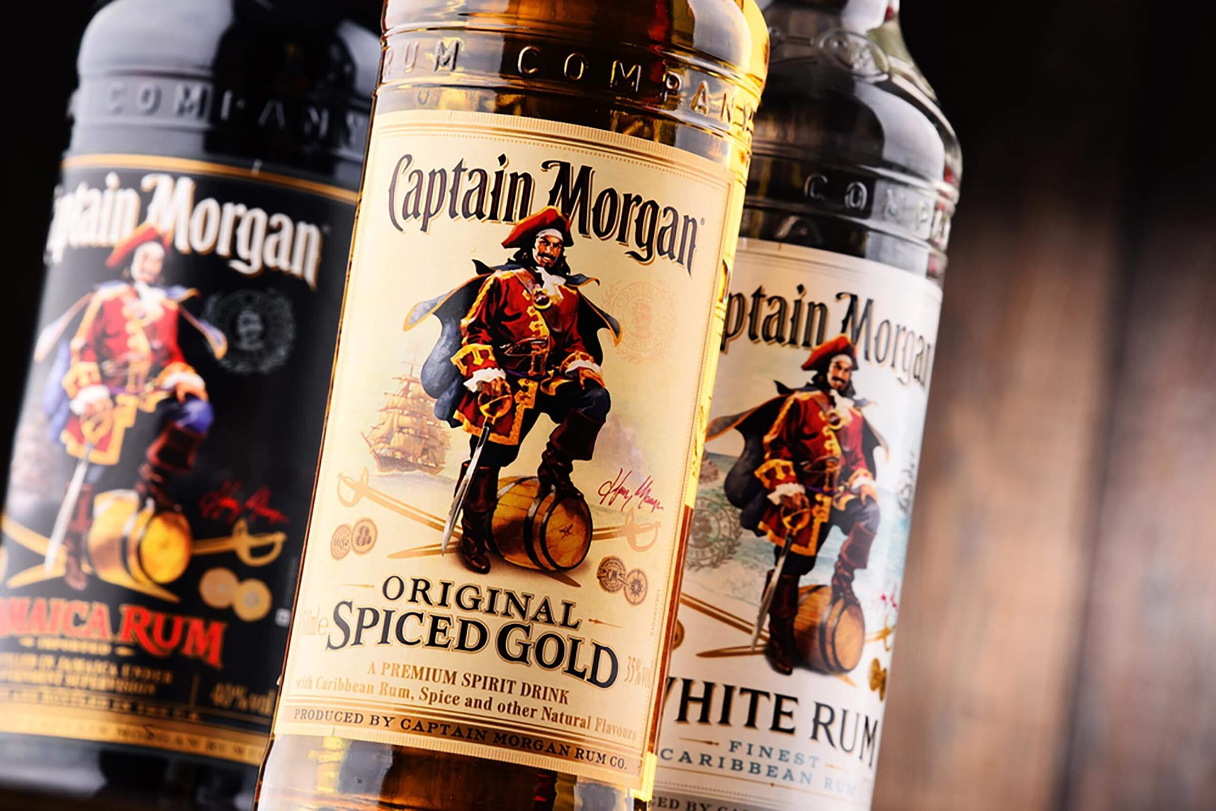 who was captain morgan and why is there a rum named after him