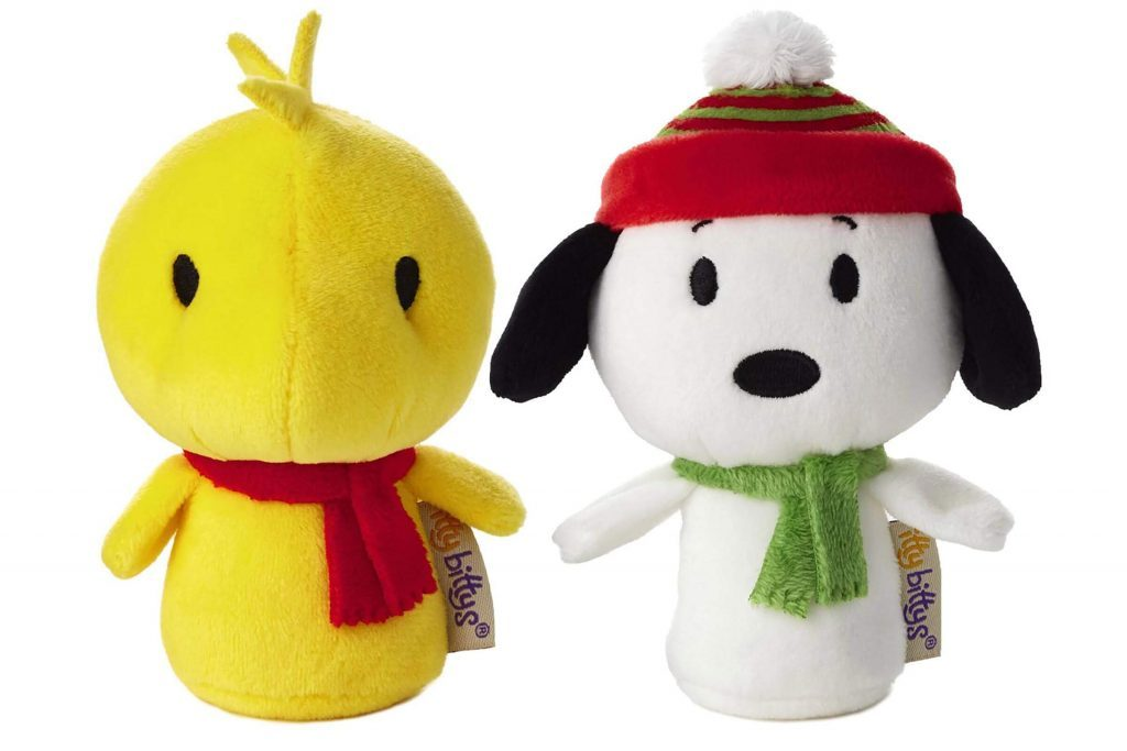 Stocking stuffers under 10 for everyone on your list readers courtesy hallmarkdelight relatives of all ages with itty bittys these tiny plush toys represent your favorite star wars peanuts and superhero movie negle Gallery