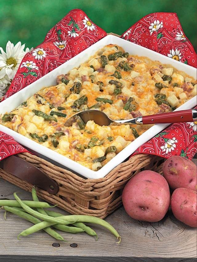 green bean potato bake