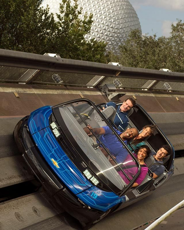 One Of Disney World's Popular Rides Inspired This Car