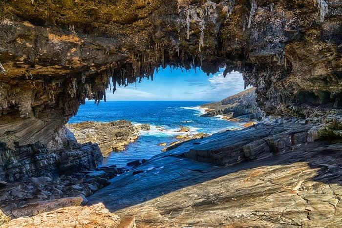 Sea-cave